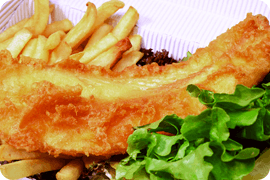 Smoked salmon - Cleethorpes, North East Lincolnshire - Ocean Fish Bar - Fish and chips