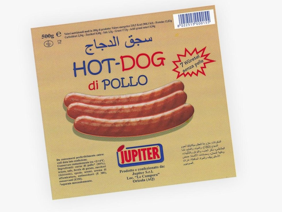 hot-dog di pollo