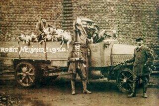 Traditional frankfurter production