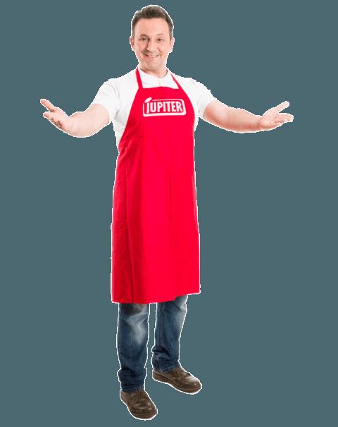 Jupiter Frankfurters in your supermarket