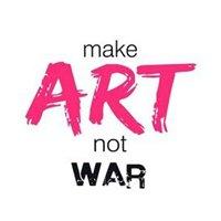 make art not war logo