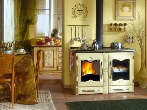 Cucina a legna Nordica