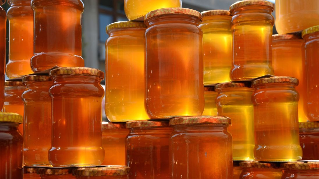 jars of honey