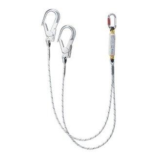 corde anticaduta, cordino a due punti, cordino in metallo