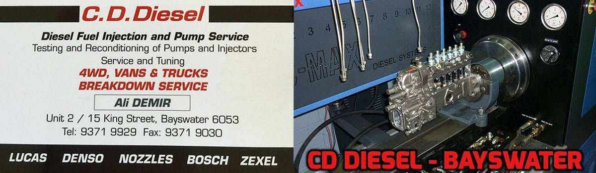 Diesel Fuel Pump Injections | Bayswater | C D  Diesel Fuel Pump