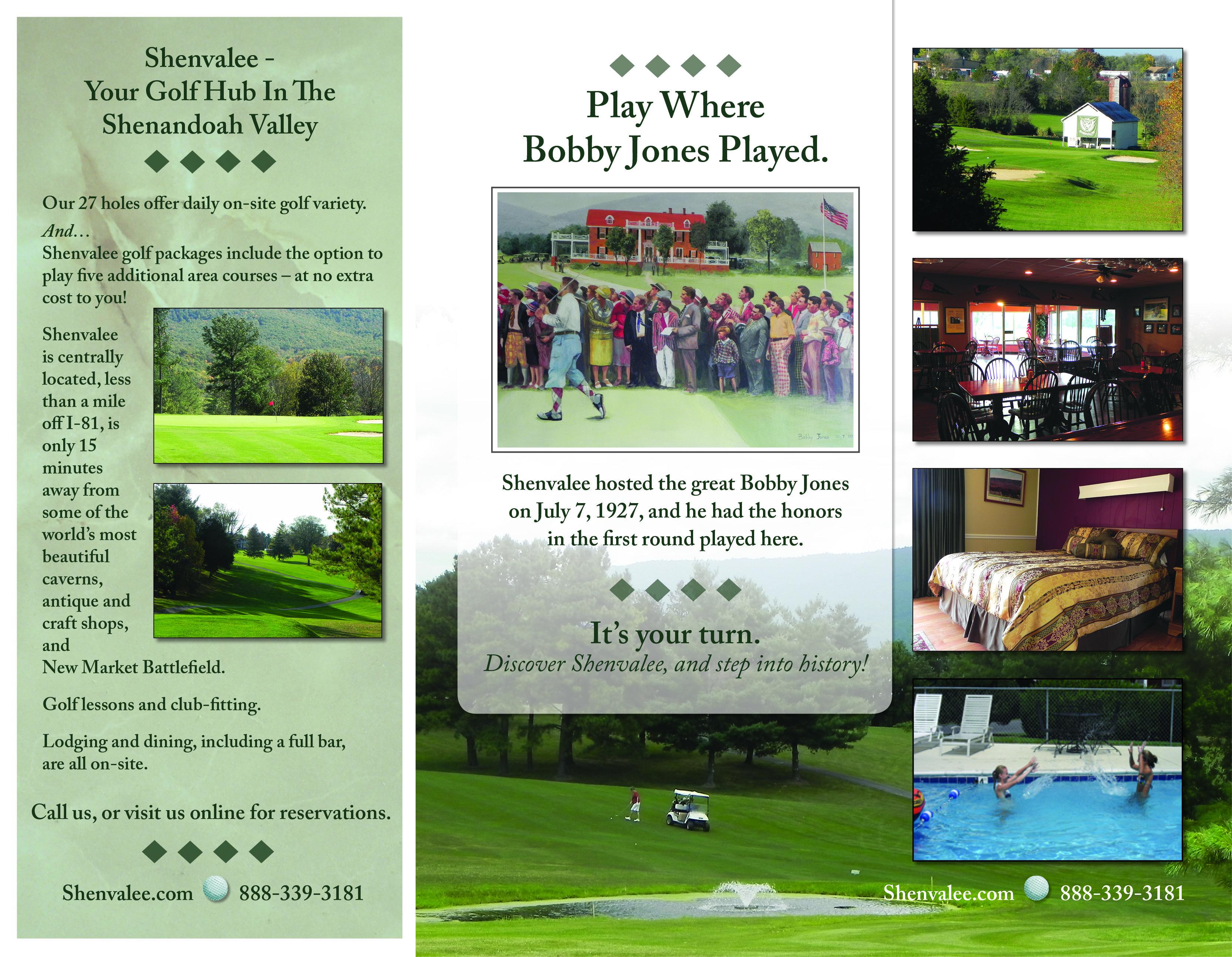 Shenvalee Golf Resort Brochure