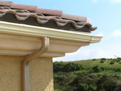 traditional section guttering