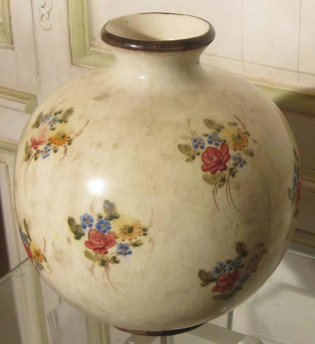 galerie-bosetti-antiquites ensemble coupe et vase vase boule