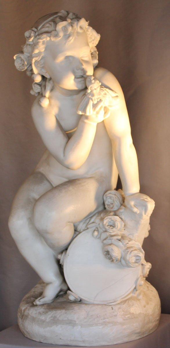 galerie-bosetti-antiquites putti biscuit