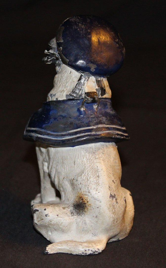 galerie-bosetti-antiquites encrier chien dos