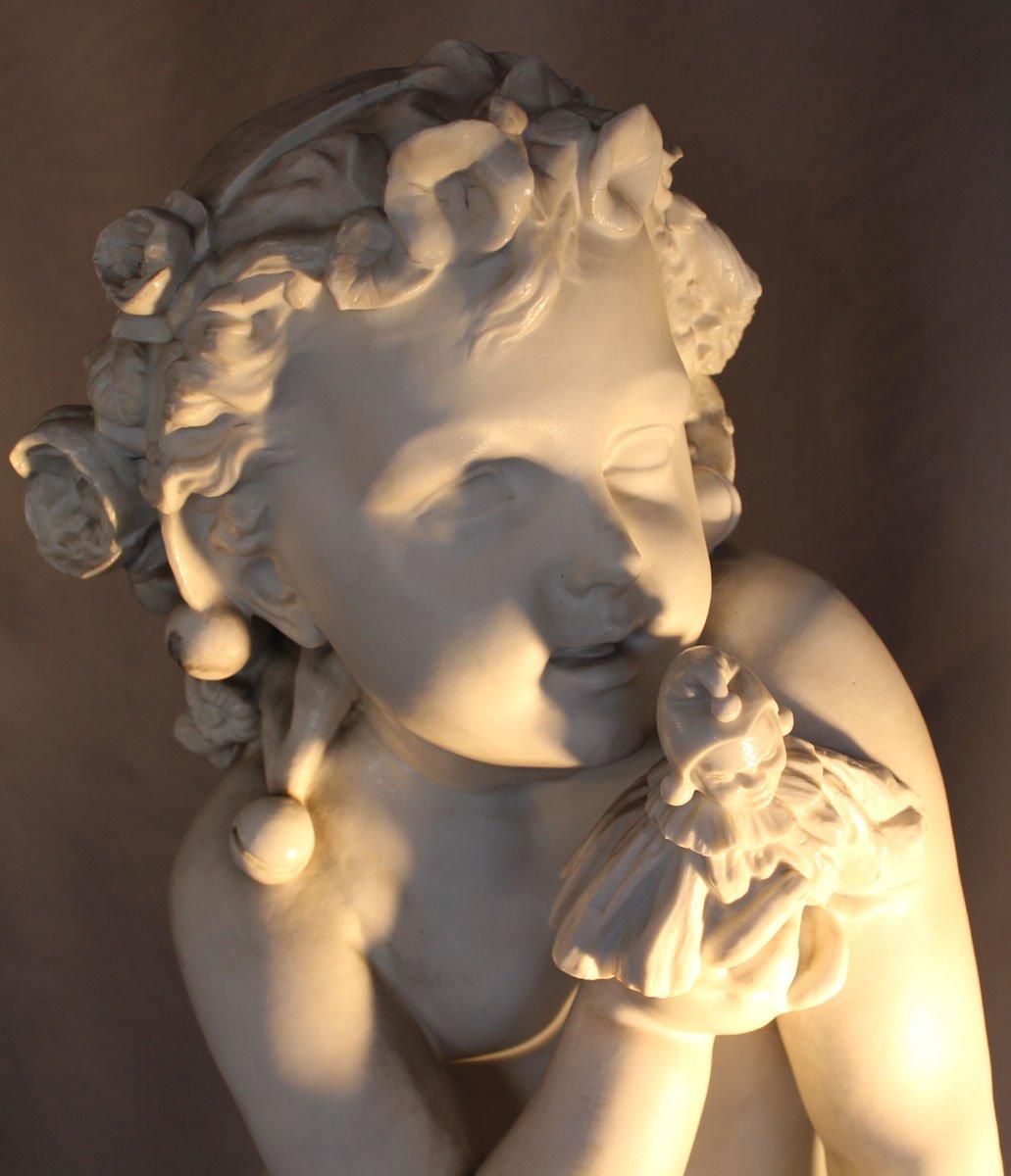 galerie-bosetti-antiquites putti biscuit tête