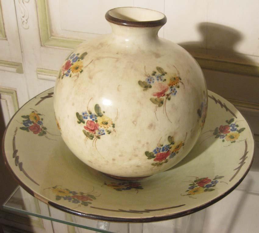 galerie-bosetti-antiquites ensemble coupe et vase