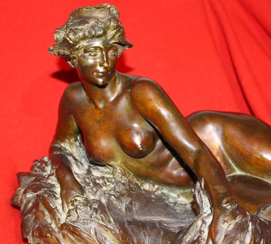 Bronze LARCHE,galerie-bosetti-antiquites,buste