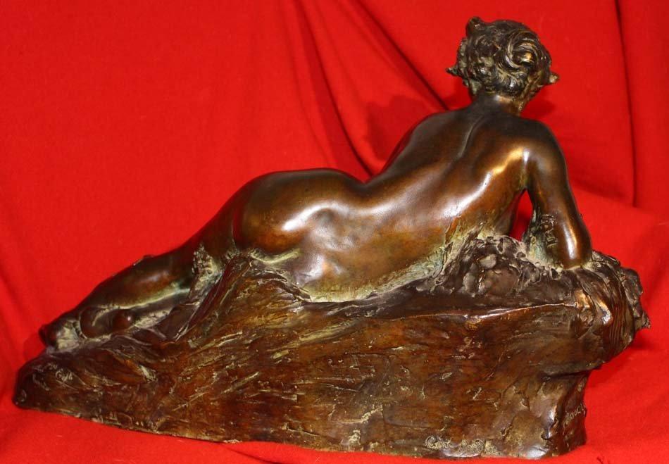 Bronze LARCHE,galerie-bosetti-antiquites,dos