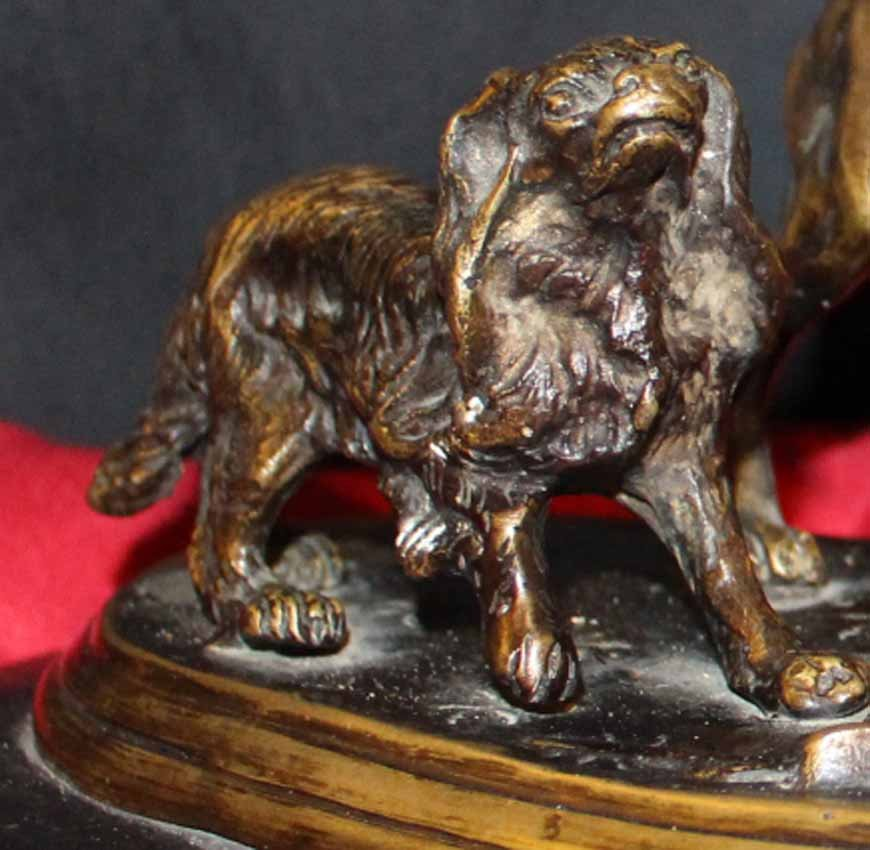 galerie-bosetti-antiquites chiens MENE King's charles