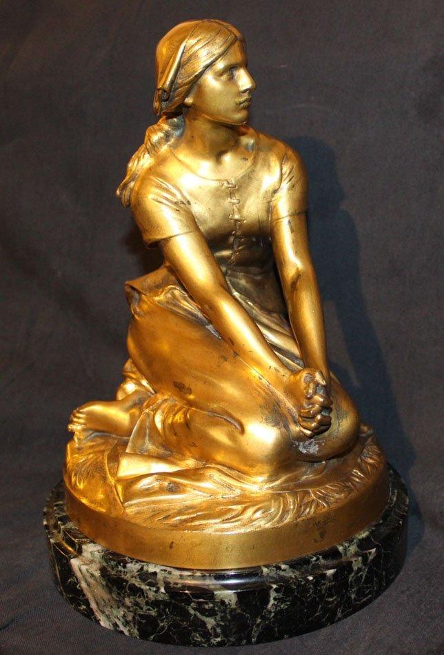 galerie-bosetti-antiquites sculpture Jeanne d'Arc