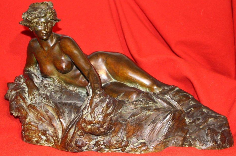Bronze LARCHE,galerie-bosetti-antiquites,vue de face