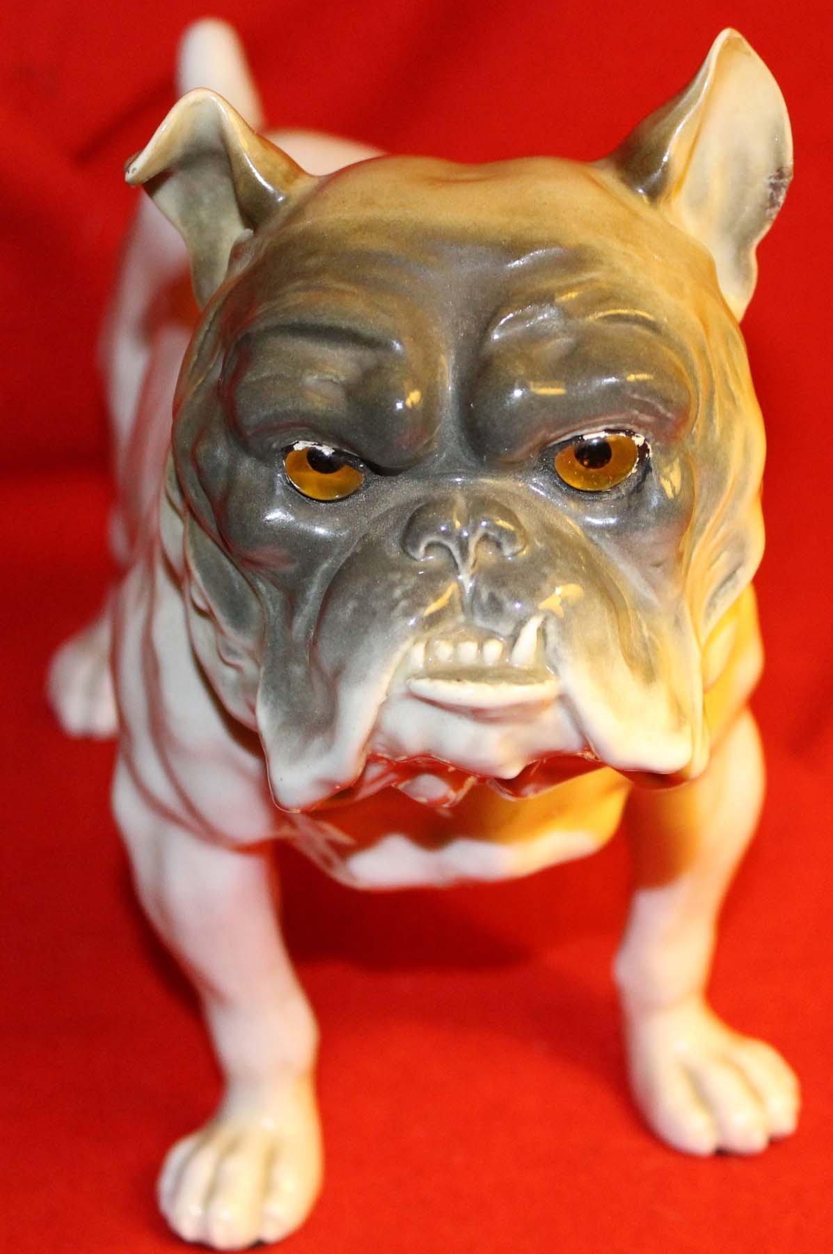 galerie-bosetti-antiquites veilleuse bull dog tête