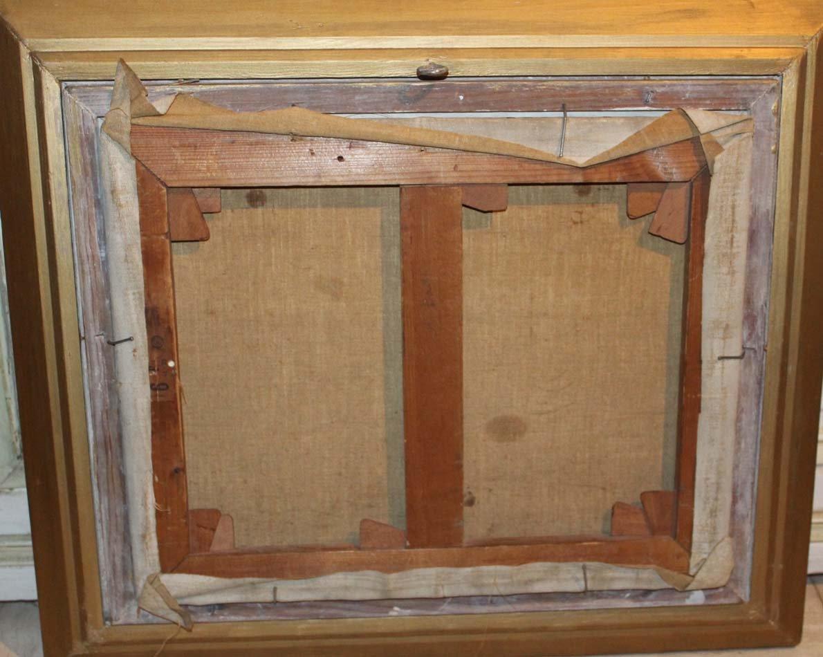 galerie-bosetti-antiquites, La Modèle, verso