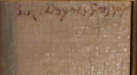galerie-bosetti-antiquites, La Modèle signature
