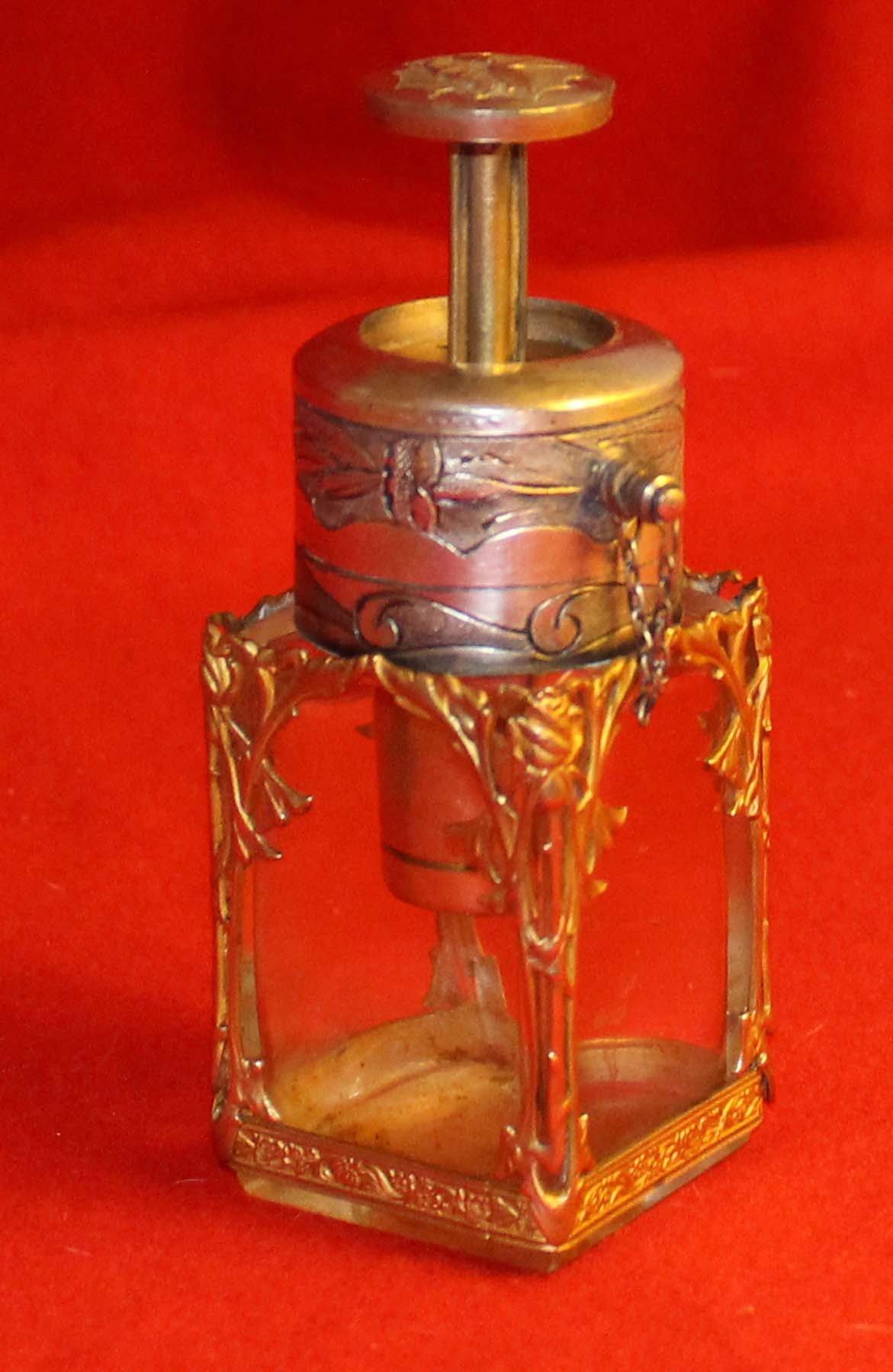 galerie-bosetti-antiquites, vaporisateur art nouveau, vapo levé