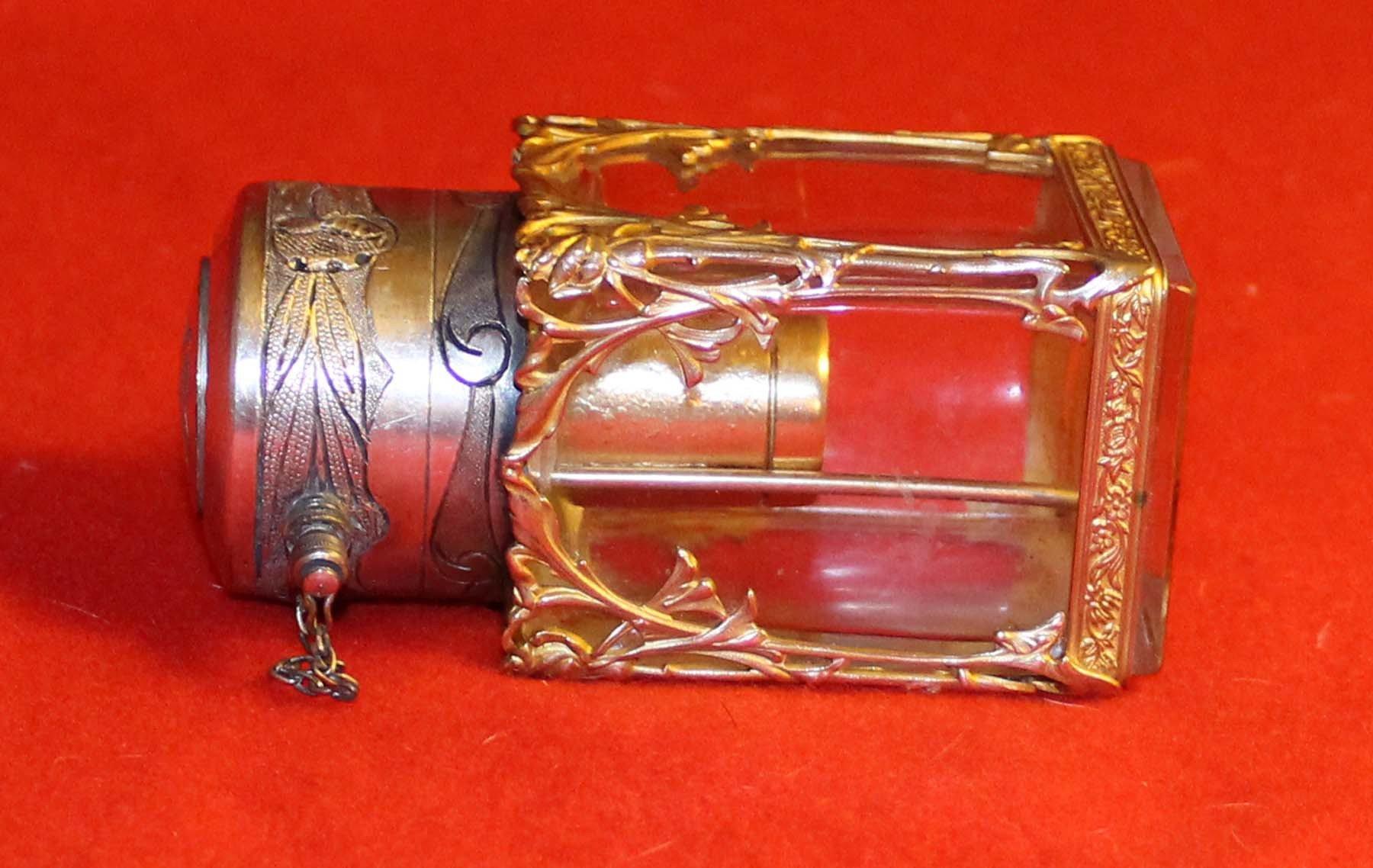 galerie-bosetti-antiquites, vaporisateur art nouveau,position allongée