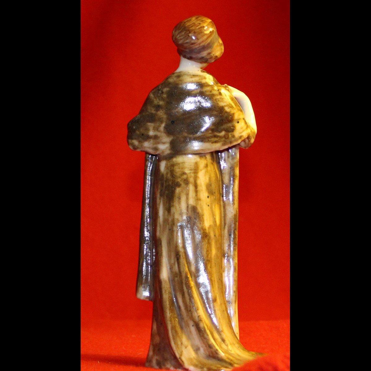 galerie-bosetti-antiquites,art nouveau femme, dos