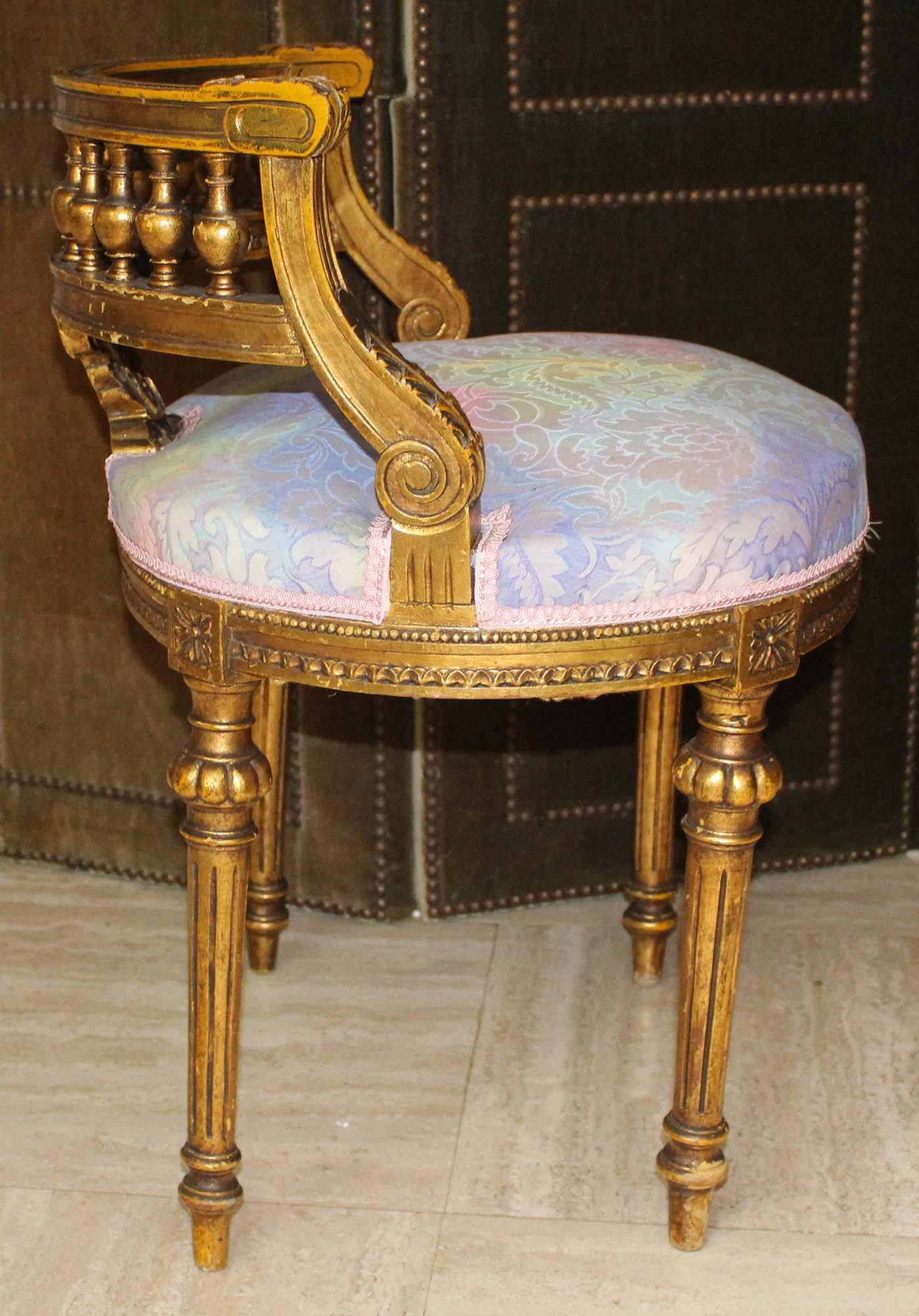 Chaise à musique galerie-bosetti-antiquites