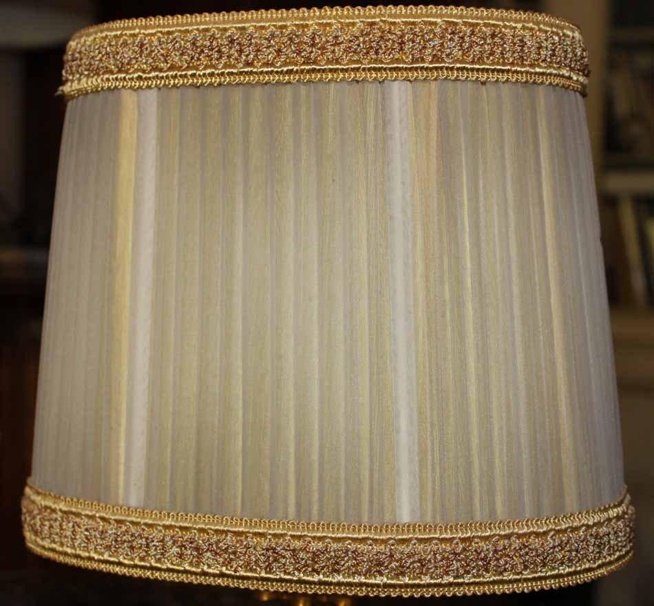 galerie-bosetti-antiquites Lampes 50 /60, abat-jour