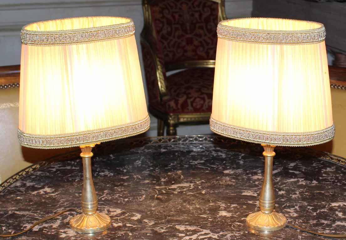 galerie-bosetti-antiquites Lampes 50 /60 allumées