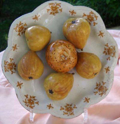 assiette faiïences anciennes trompe l'oeil galerie-bosetti-antiquites