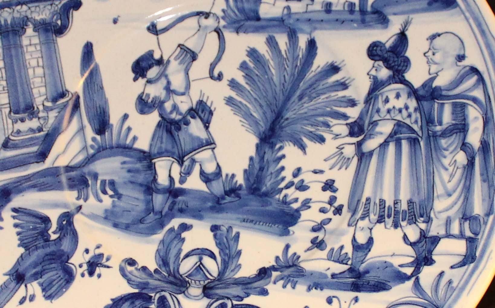 galerie -bosetti-antiquites nevers 17ème période CONRADE détail scène