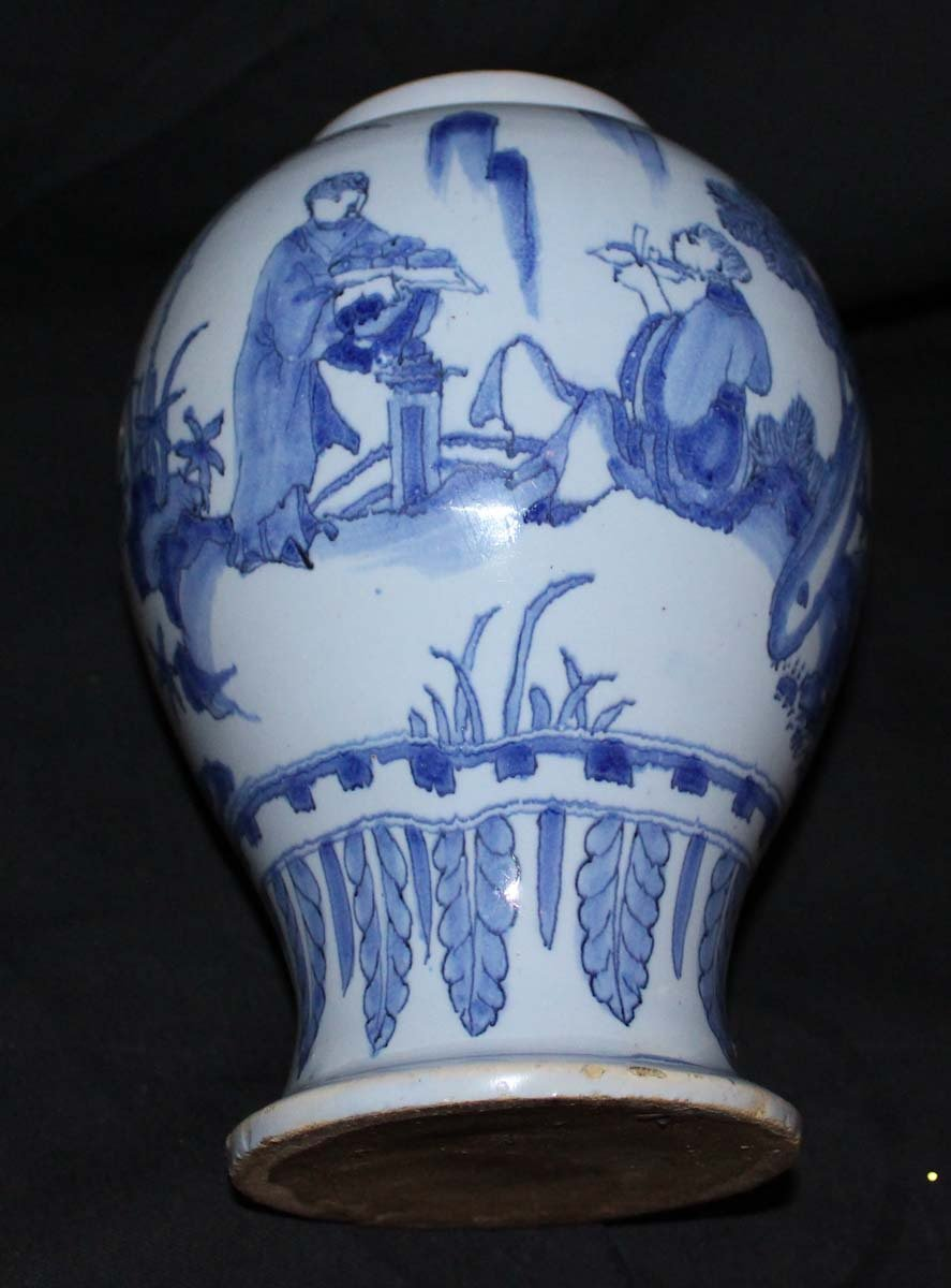 galerie-bosetti-antiquites Nevers 17ème vase, couple chinois
