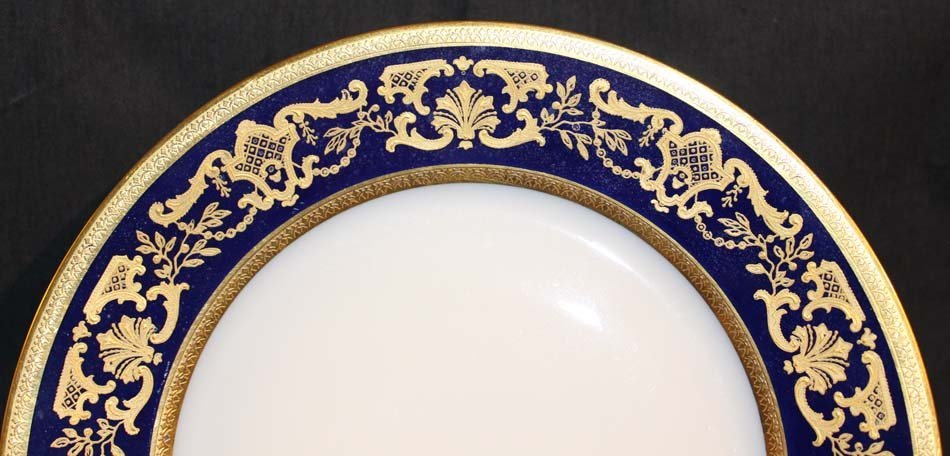 galerie-bosetti-antiquites Porcelaine LIMOGES aile