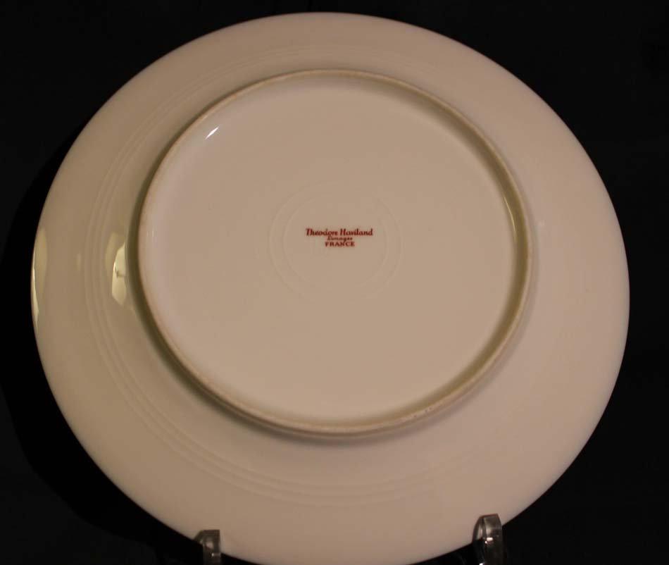 galerie-bosetti-antiquites,Porcelaine LIMOGES verso