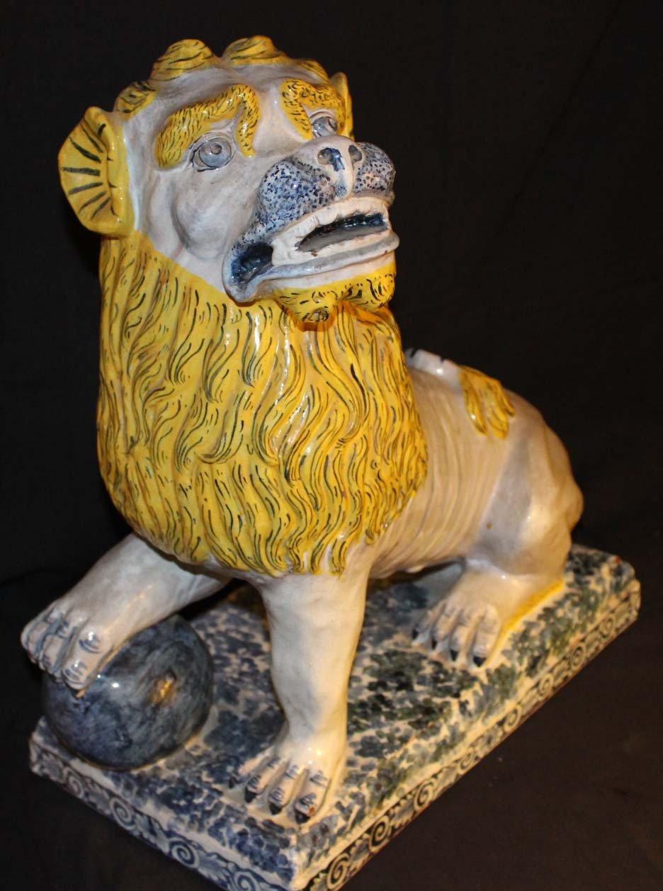 galerie-bosetti-antiquites sculpture lion
