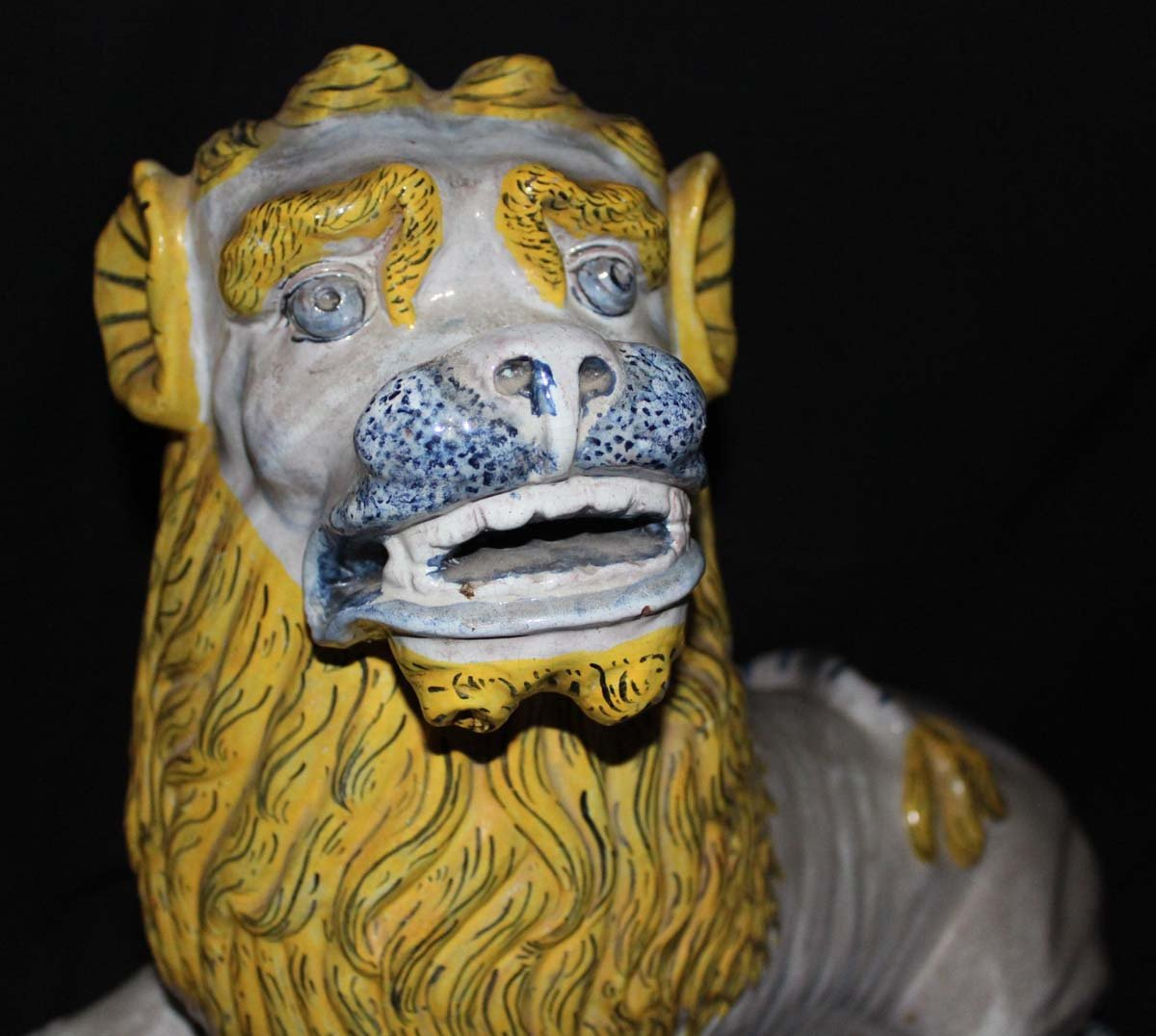 galerie-bosetti-antiquites sculpture lion tête