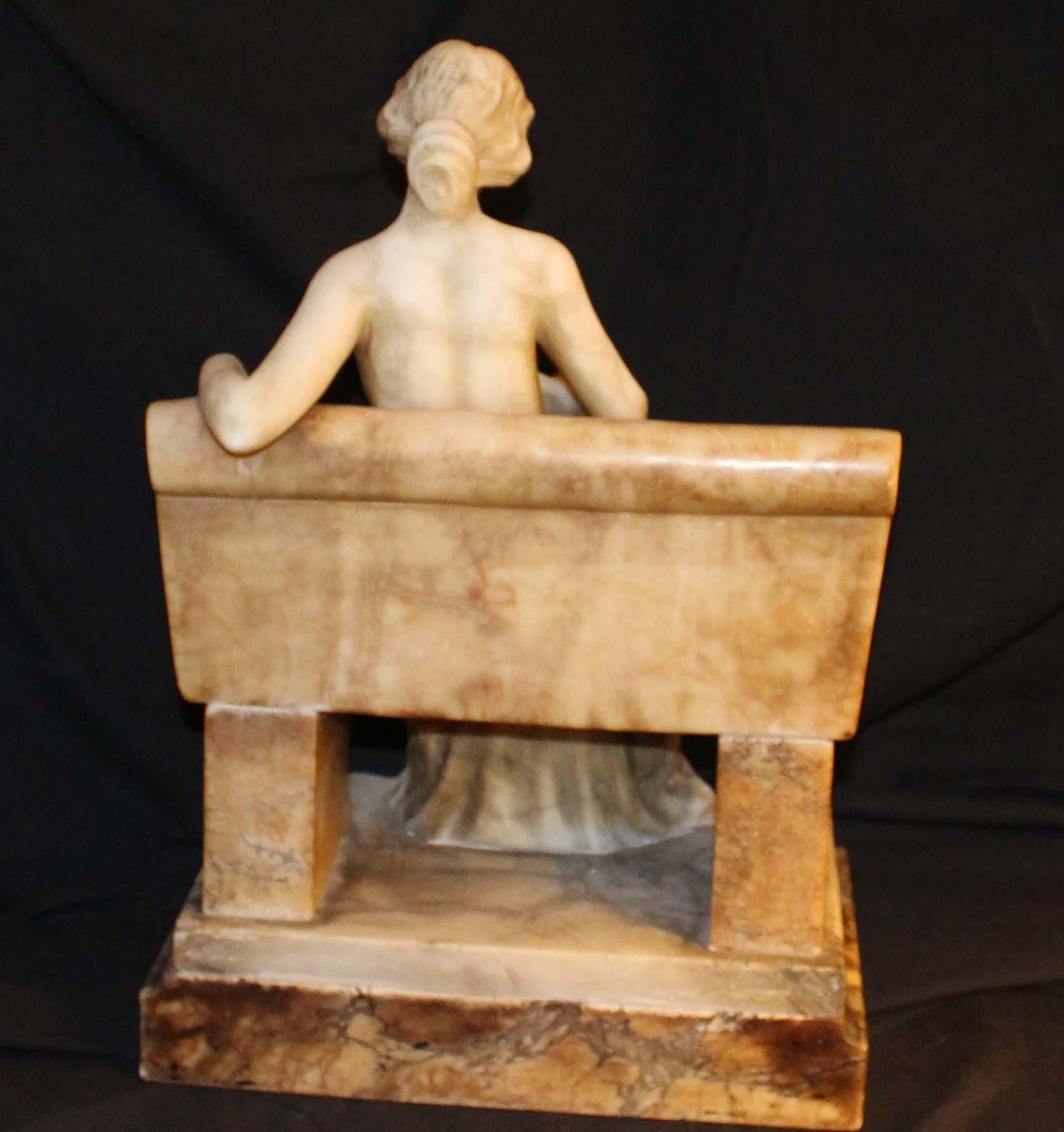galerie-bosetti-antiquites sculpture marbre dos