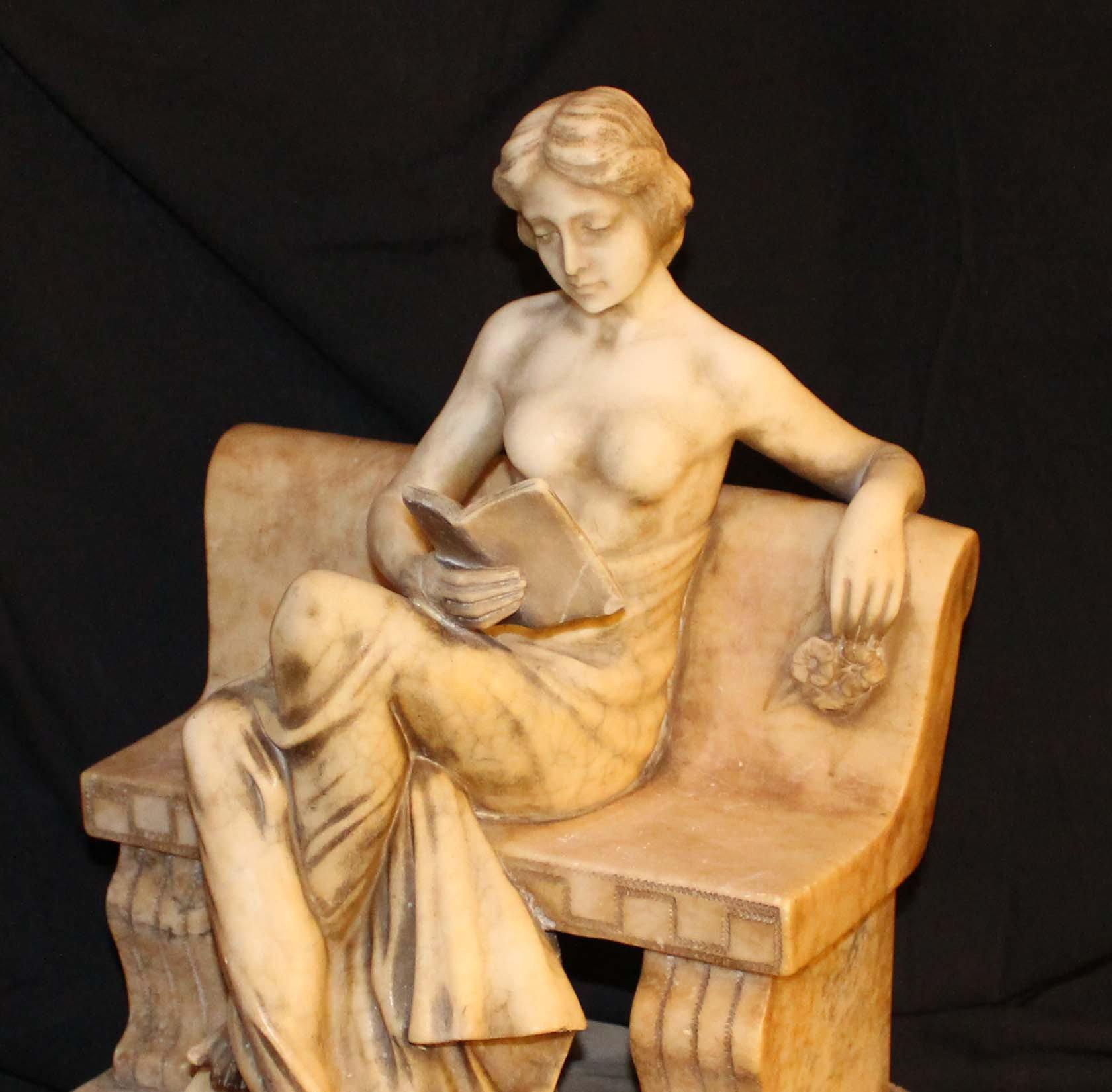 galerie-bosetti-antiquites sculpture marbre partie haute