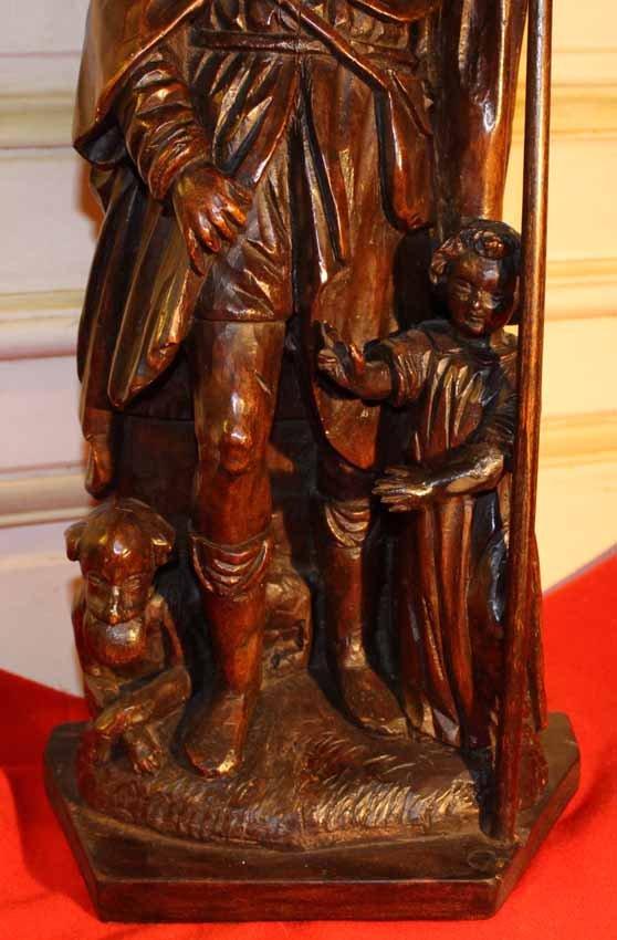 galerie-bosetti-antiquites SAINT-ROCH ange et chien