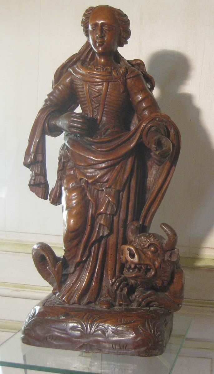 galerie-bosetti-antiquites, sculpture Ste Marthe