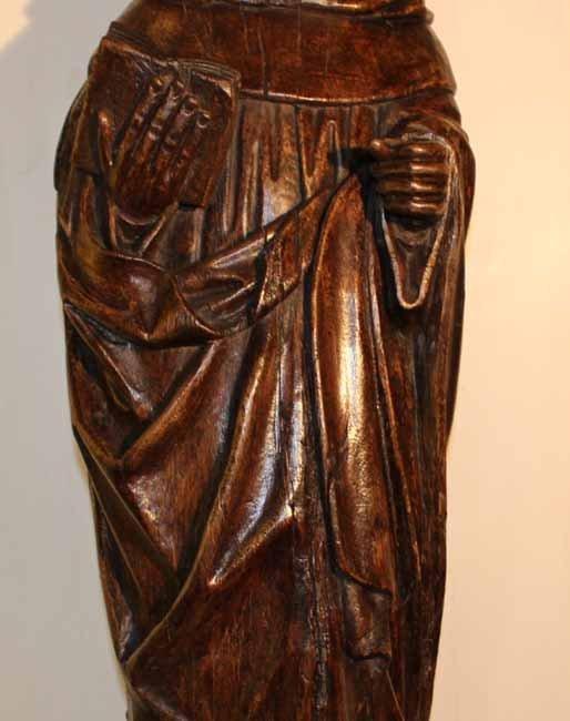 galerie-bosetti-antiquites Saint-Antoine drapé