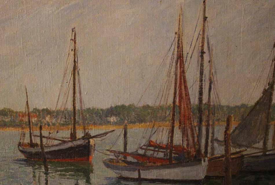 galerie-bosetti-antiquites, port de ROYAN, vue bateaux