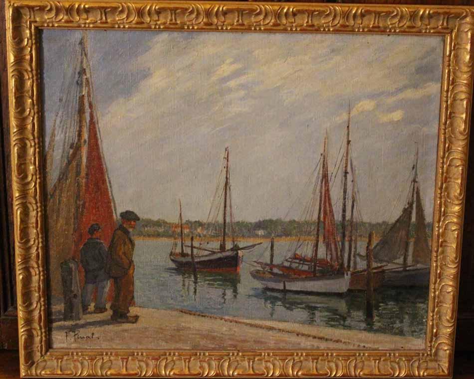 galerie-bosetti-antiquites, port de ROYAN
