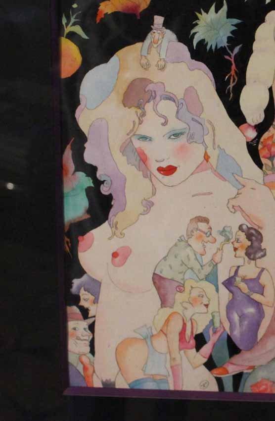 galerie-bosetti-antiquites Maquette Virginie NAPO, détail 3