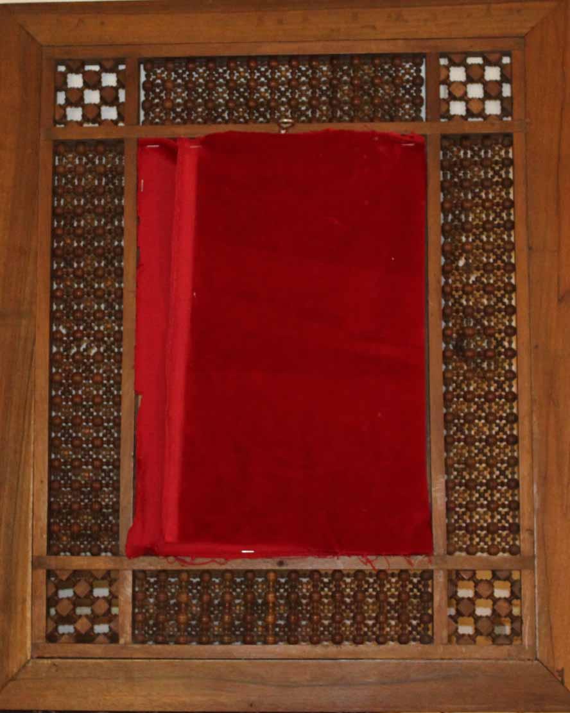 galerie-bosetti-antiquites cadre oriental, verso du cadre