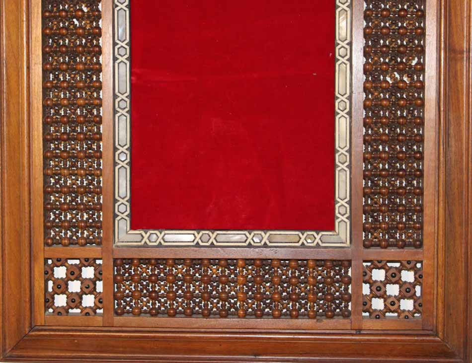 galerie-bosetti-antiquites cadre oriental partie inferieure