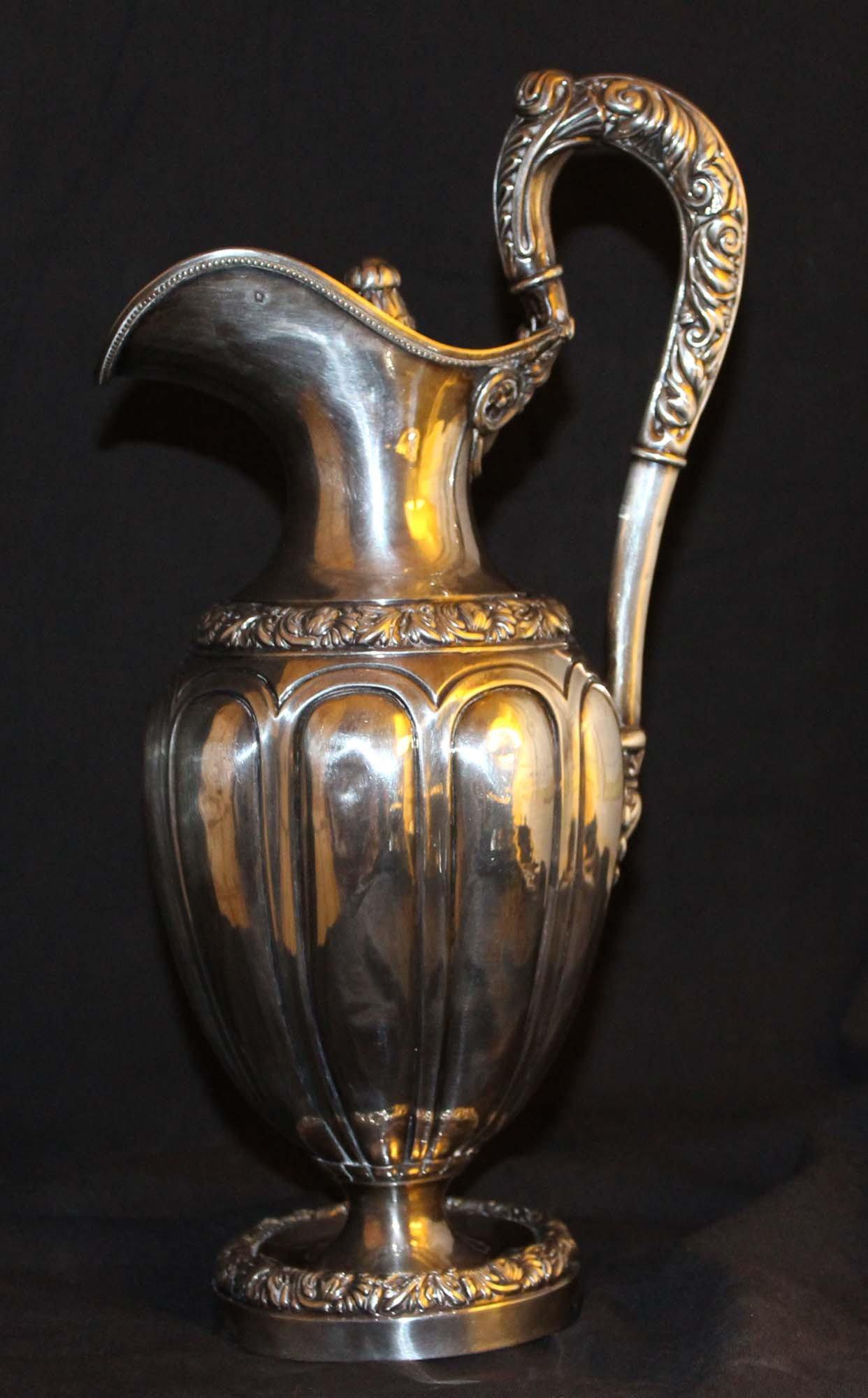 galerie Bosetti antiquités céramiques ARGENTERIE Cuvette 19e 3