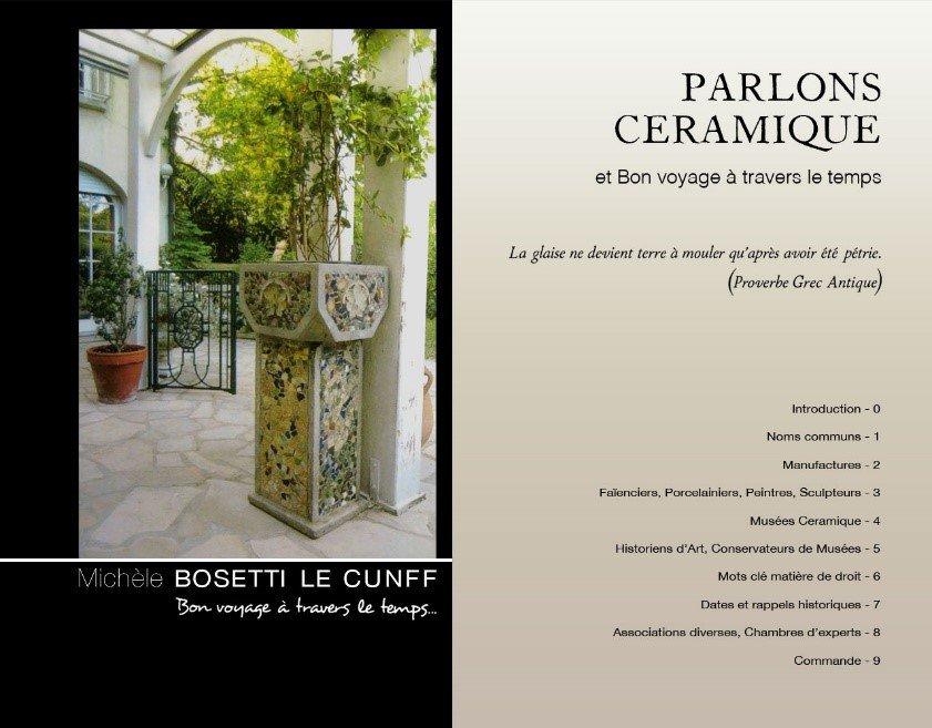 Livre Parlons Céramique écrit par Michèle Bosetti