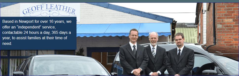 Funeral Directors - Newport - Geoff Leather Independent Funeral Directors - Funeral Service